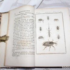 Libros antiguos: HISTOIRE NATURELLE DES CRUSCTACÉS ET INSECTOS. LATREILLE-BUFFON. DUFART TOMO 11. Lote 184054378