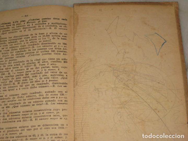 Libros antiguos: Lecciones de Aritmetica. D. Jose Dalmau Carles. Libro del alumno. 1928 - Foto 4 - 184243586