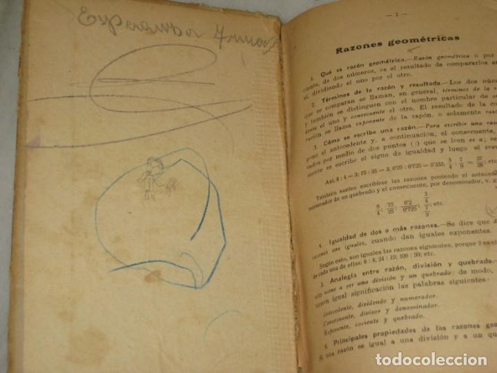 Libros antiguos: Lecciones de Aritmetica. D. Jose Dalmau Carles. Libro del alumno. 1928 - Foto 5 - 184243586