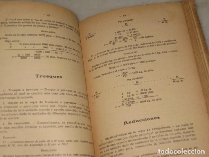 Libros antiguos: Lecciones de Aritmetica. D. Jose Dalmau Carles. Libro del alumno. 1928 - Foto 7 - 184243586