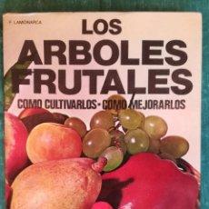 Libros antiguos: ARBOLES FRUTALES. Lote 184264453
