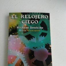 Libros antiguos: EL RELOJERO CIEGO. Lote 184532968