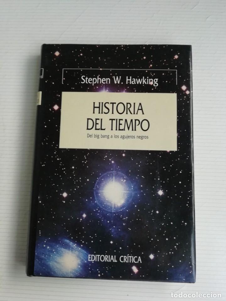 HISTORIA DEL TIEMPO (Libros Antiguos, Raros y Curiosos - Ciencias, Manuales y Oficios - Física, Química y Matemáticas)