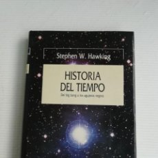 Libros antiguos: HISTORIA DEL TIEMPO DE STEPHEN HAWKING. Lote 184534465