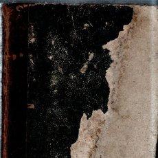 Libros antiguos: HISTORIA NATURAL. LOS TRES REINOS DE LA NATURALEZA. BUFFON. D. JOSE MONLAU. TOMO I. ZOOLOGIA. 1852.. Lote 184703263