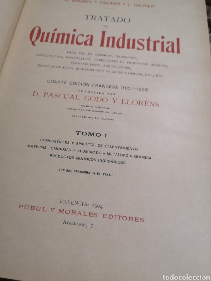 Libros antiguos: TRATADO DE QUIMICA INDUSTRIAL 2 TOMOS,R.WAGNER,F.FISCHER Y L.GAUTIER , 1904 - Foto 3 - 184863091