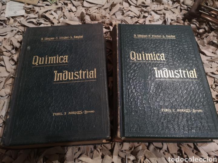 TRATADO DE QUIMICA INDUSTRIAL 2 TOMOS,R.WAGNER,F.FISCHER Y L.GAUTIER , 1904 (Libros Antiguos, Raros y Curiosos - Ciencias, Manuales y Oficios - Física, Química y Matemáticas)
