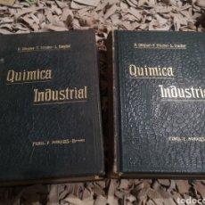 Libros antiguos: TRATADO DE QUIMICA INDUSTRIAL 2 TOMOS,R.WAGNER,F.FISCHER Y L.GAUTIER , 1904. Lote 184863091