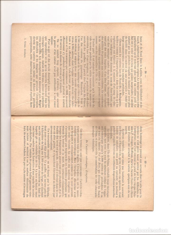 Libros antiguos: 18. LES VOLCANS. LOS VOLCANES - Foto 2 - 185498982