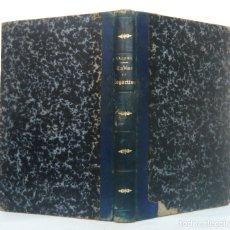 Libros antiguos: 1880 - MATEMÁTICAS - LIBRO ANTIGUO SIGLO XIX - TABLAS DE LOS LOGARITMOS VULGARES - V. VÁZQUEZ QUEIPO. Lote 185775443