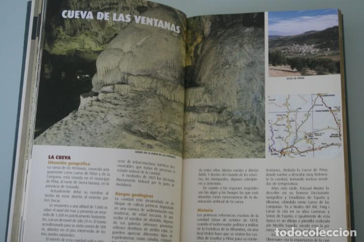 Libros antiguos: GUIA CUEVAS TURISTICAS DE ESPAÑA Y ENTORNOS NATURALES.. – INSTITUTO GEOLOGICO Y MINERO - A ESTRENAR - Foto 4 - 185911555