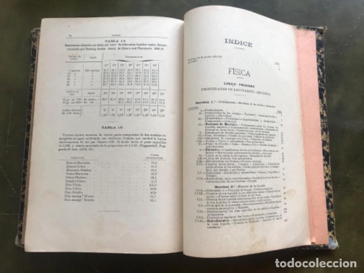 Libros antiguos: Fisica experimental y aplicada Bartolomé Feliú y Perez 1890 - Foto 6 - 185975482