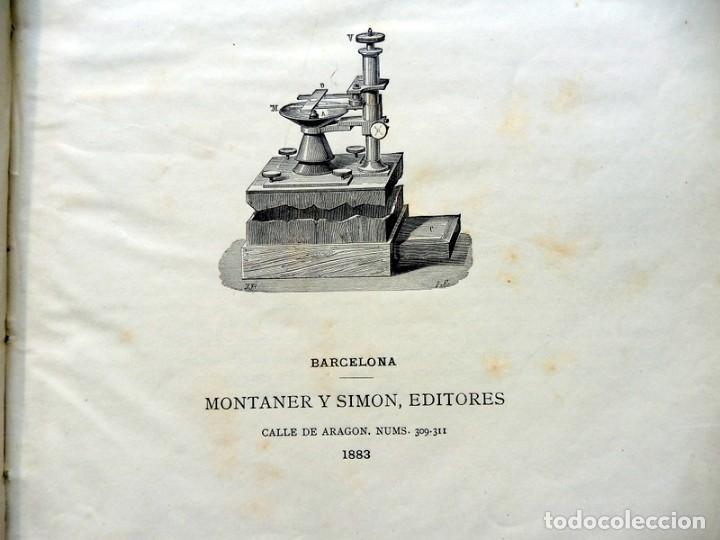 Libros antiguos: MUNDO FÍSICO POR AMADEO GUILLEMIN - 1883 - TOMO SEGUNDO - Foto 8 - 186298933