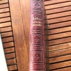Libros antiguos: ELEMENTOS DE MATEMÁTICAS POR VICENTE RUBIO Y DIAZ. TOMO 2 GEOMETRÍA Y TRIGONOMETRÍA 1884. Lote 186396750