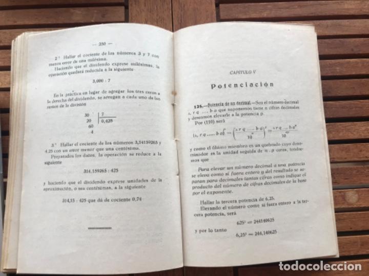 Libros antiguos: Matemáticas II Aritmética.H Miranda y tuya y A del Pueyo y García. A vila 1932 - Foto 4 - 186400275