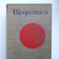 Libros antiguos: BIOQUÍMICA // ALBERT LEHNINGER // LAS BASES MOLECULARES DE LA ESTRUCTURA Y FUNCIÓN CELULAR. Lote 187103723