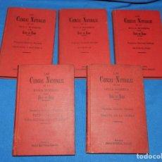 Libros antiguos: (MF) ODON DE BUEN - LAS CIENCIAS NATURALES EN LA EPOCA MODERNA (COMPLETO) BOTANICA, MINERALOGIA. Lote 188491877