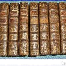 Libros antiguos: AÑO 1775. HISTORIA NATURAL. 9 TOMOS DEL SIGLO XVIII DE 21 CM. COMPLETO.. Lote 188697818