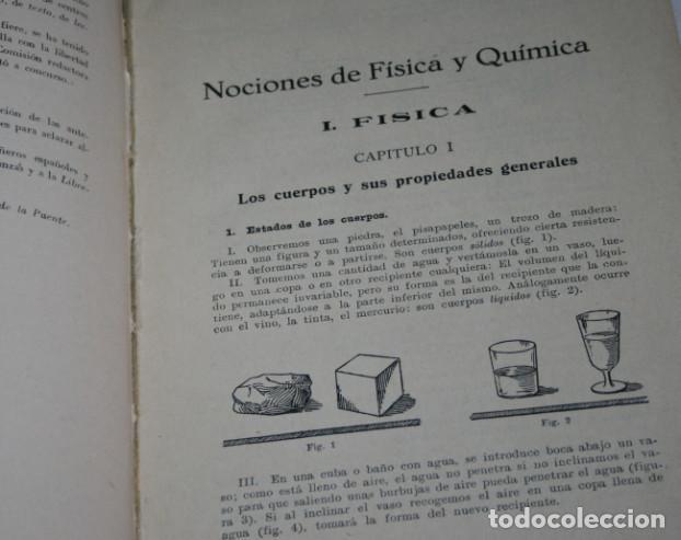Libros antiguos: NOCIONES EXPERIMENTALES DE FISICA Y QUIMICA, DE LA PUENTE LARIOS, BOSCH 1930, ILUSTRADO, LIBRO - Foto 3 - 188702005