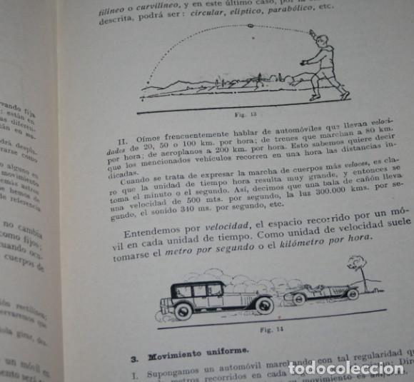 Libros antiguos: NOCIONES EXPERIMENTALES DE FISICA Y QUIMICA, DE LA PUENTE LARIOS, BOSCH 1930, ILUSTRADO, LIBRO - Foto 4 - 188702005