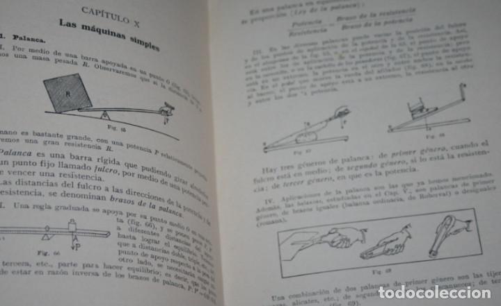 Libros antiguos: NOCIONES EXPERIMENTALES DE FISICA Y QUIMICA, DE LA PUENTE LARIOS, BOSCH 1930, ILUSTRADO, LIBRO - Foto 5 - 188702005