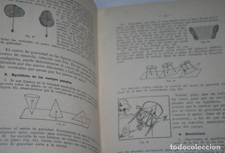 Libros antiguos: NOCIONES EXPERIMENTALES DE FISICA Y QUIMICA, DE LA PUENTE LARIOS, BOSCH 1930, ILUSTRADO, LIBRO - Foto 6 - 188702005