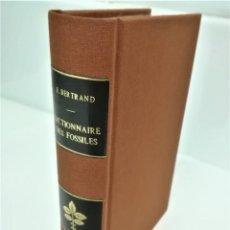 Libros antiguos: LIBRO,DICCIONARIO DE LOS FOSILES,SIGLO XVIII,AÑO 1763,DE LOS PRIMEROS EDITADOS EN EL MUNDO, FRANCES. Lote 188757285