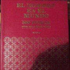 Libros antiguos: EL HOMBRE EN EL MUNDO EN 6 TOMOS COMPLETA. Lote 189680406