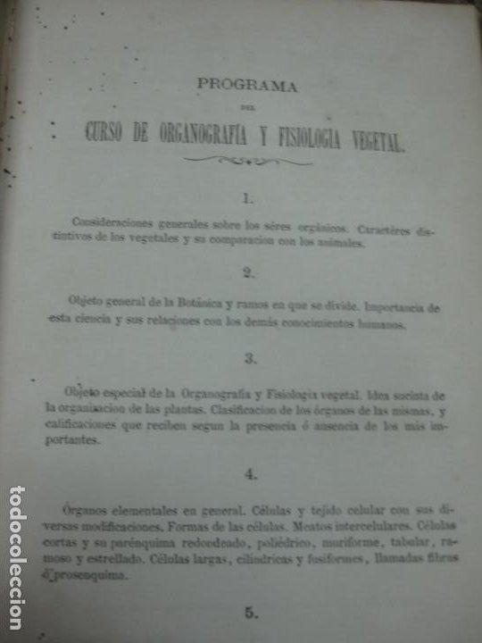 Libros antiguos: CURSO DE BOTANICA O ELEMENTOS DE ORGANOGRAFIA .... MIGUEL COLMEIRO. IMP. GABRIEL ALHAMBRA 1871. 2 V. - Foto 18 - 168779992