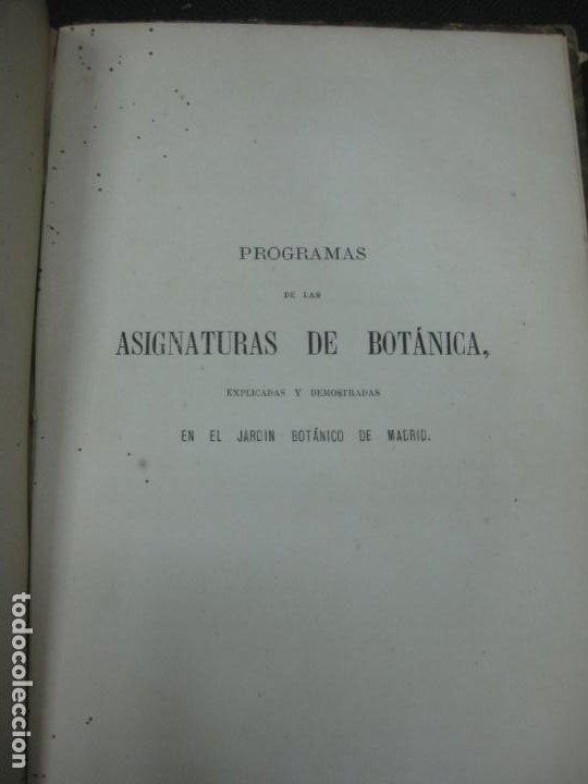 Libros antiguos: CURSO DE BOTANICA O ELEMENTOS DE ORGANOGRAFIA .... MIGUEL COLMEIRO. IMP. GABRIEL ALHAMBRA 1871. 2 V. - Foto 19 - 168779992