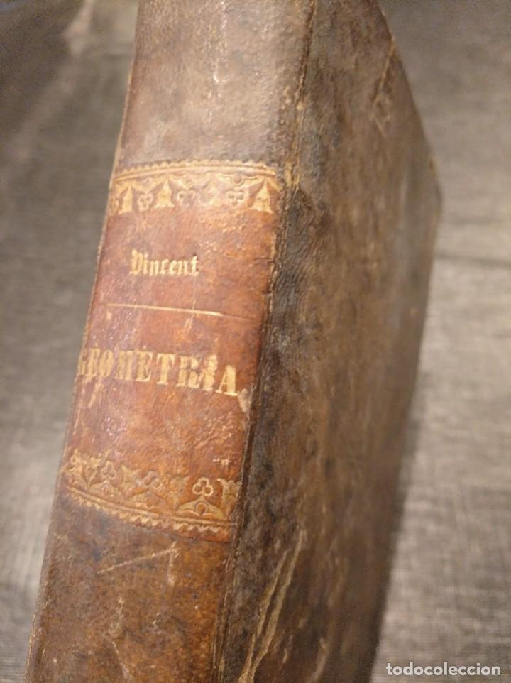 CURSO DE GEOMETRÍA ELEMENTAL (1862) - J. H. VINCENT - CON 22 LÁMINAS DESPLEGABLES (Libros Antiguos, Raros y Curiosos - Ciencias, Manuales y Oficios - Física, Química y Matemáticas)