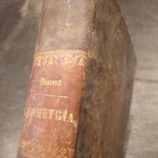 Libros antiguos: CURSO DE GEOMETRÍA ELEMENTAL (1862) - J. H. VINCENT - CON 22 LÁMINAS DESPLEGABLES. Lote 190166302