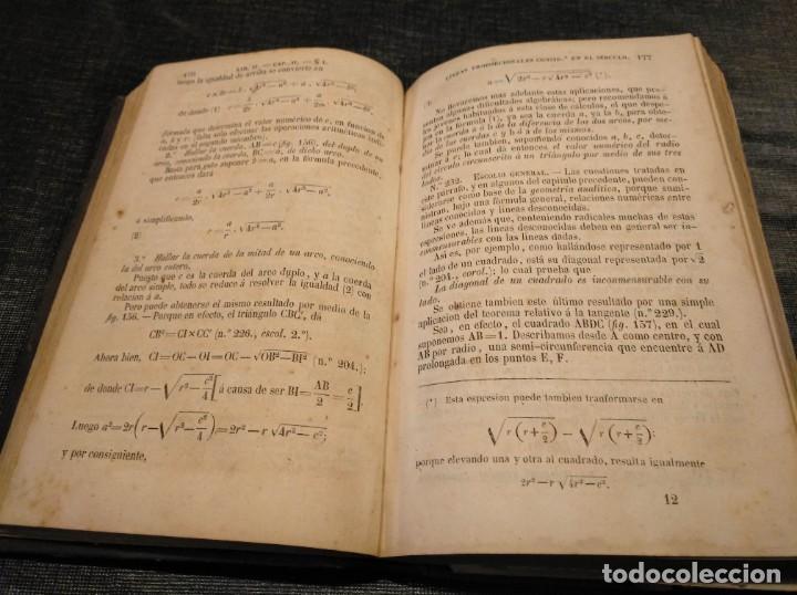 Libros antiguos: CURSO DE GEOMETRÍA ELEMENTAL (1862) - J. H. VINCENT - CON 22 LÁMINAS DESPLEGABLES - Foto 4 - 190166302