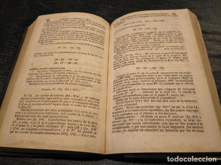 Libros antiguos: CURSO DE GEOMETRÍA ELEMENTAL (1862) - J. H. VINCENT - CON 22 LÁMINAS DESPLEGABLES - Foto 5 - 190166302