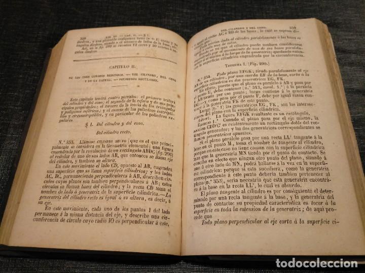 Libros antiguos: CURSO DE GEOMETRÍA ELEMENTAL (1862) - J. H. VINCENT - CON 22 LÁMINAS DESPLEGABLES - Foto 6 - 190166302