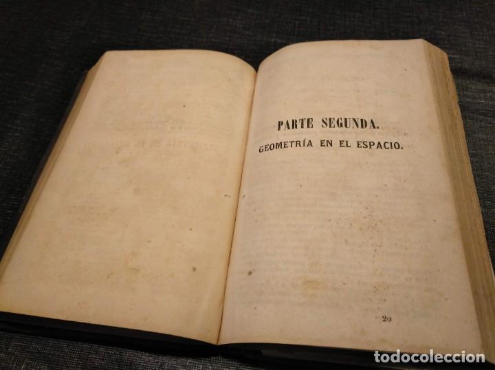 Libros antiguos: CURSO DE GEOMETRÍA ELEMENTAL (1862) - J. H. VINCENT - CON 22 LÁMINAS DESPLEGABLES - Foto 7 - 190166302