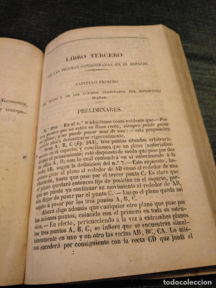 Libros antiguos: CURSO DE GEOMETRÍA ELEMENTAL (1862) - J. H. VINCENT - CON 22 LÁMINAS DESPLEGABLES - Foto 8 - 190166302