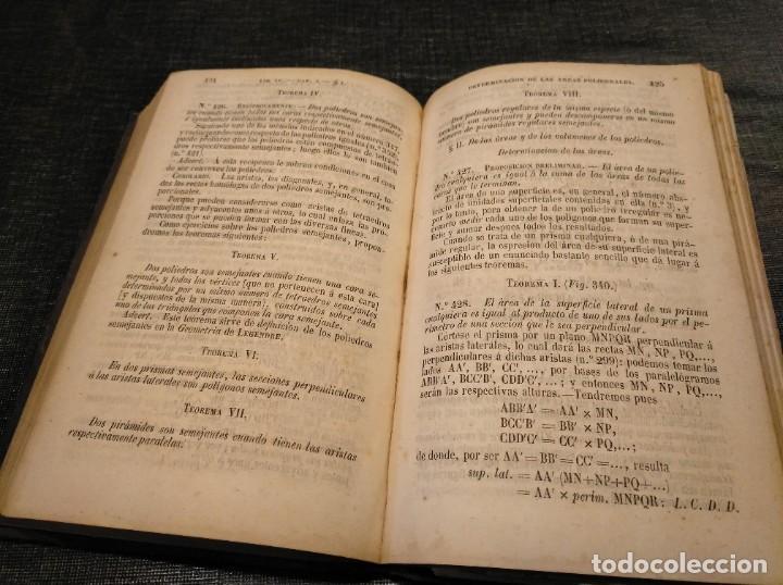 Libros antiguos: CURSO DE GEOMETRÍA ELEMENTAL (1862) - J. H. VINCENT - CON 22 LÁMINAS DESPLEGABLES - Foto 9 - 190166302