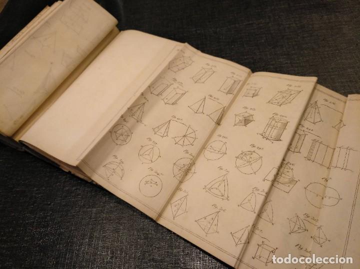 Libros antiguos: CURSO DE GEOMETRÍA ELEMENTAL (1862) - J. H. VINCENT - CON 22 LÁMINAS DESPLEGABLES - Foto 12 - 190166302