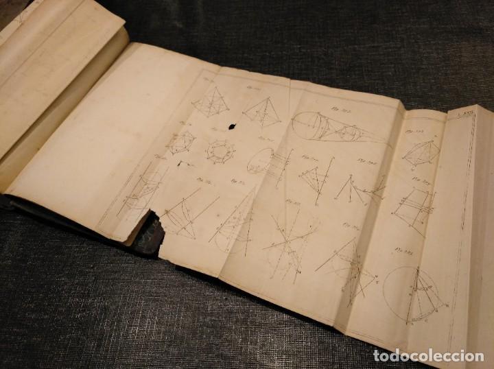 Libros antiguos: CURSO DE GEOMETRÍA ELEMENTAL (1862) - J. H. VINCENT - CON 22 LÁMINAS DESPLEGABLES - Foto 13 - 190166302