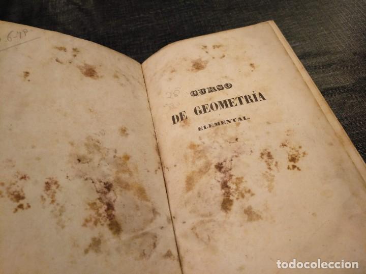 Libros antiguos: CURSO DE GEOMETRÍA ELEMENTAL (1862) - J. H. VINCENT - CON 22 LÁMINAS DESPLEGABLES - Foto 15 - 190166302