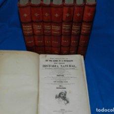 Libros antiguos: (MF) CONDE DE BUFFON LOS TRES REINOS DE LA NATURALEZA. MUSEO PINTORESCO DE HISTORIA NATURAL 1852. Lote 190220647