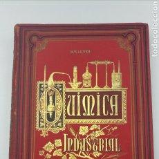 Libros antiguos: ATLAS QUIMICA INDUSTRIAL Y AGRÍCOLA AÑO 1896. Lote 190385575