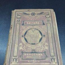 Libros antiguos: PANORAMA ZOOLÓGICO SALVAÑA. 1883 CON GRABADOS. Lote 190489863