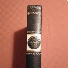 Libros antiguos: TRATADO DE BOTÁNICA.-AUTOR: STRASBURGER. ED MARÍN 6ª EDICIÓN ESPAÑOLA. Lote 190582981