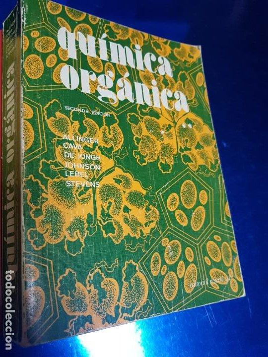 Libros antiguos: LOTE 2 LIBROS-QUÍMICA ORGÁNICA I+II-2ªEDICIÓN-ED.REVERTÉ S.A.-ALLINGER/CAVA/JOHNSON - Foto 17 - 190561527