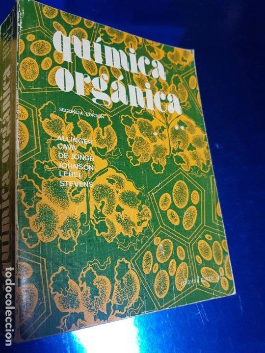 Libros antiguos: LOTE 2 LIBROS-QUÍMICA ORGÁNICA I+II-2ªEDICIÓN-ED.REVERTÉ S.A.-ALLINGER/CAVA/JOHNSON - Foto 28 - 190561527