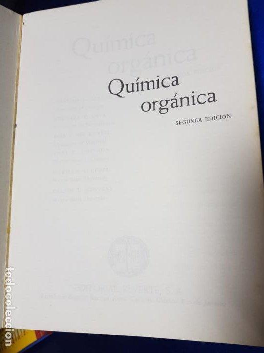Libros antiguos: LOTE 2 LIBROS-QUÍMICA ORGÁNICA I+II-2ªEDICIÓN-ED.REVERTÉ S.A.-ALLINGER/CAVA/JOHNSON - Foto 25 - 190561527