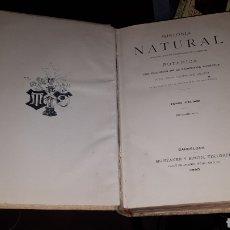 Libros antiguos: HISTORIA NATURAL BOTANICA ODON DE BUEN MONTANER Y SIMON 1893. Lote 191303796
