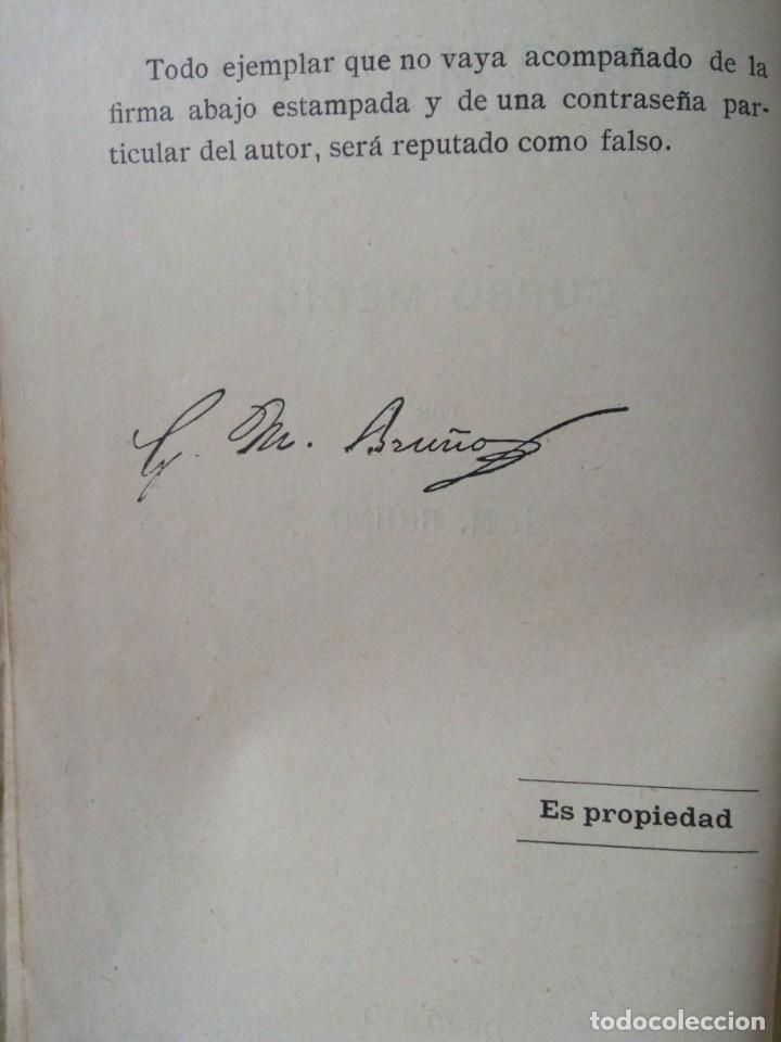 Libros antiguos: ARITMETICA-CURSO MEDIO DE G.M.BRUÑO 1908 - Foto 5 - 191592028